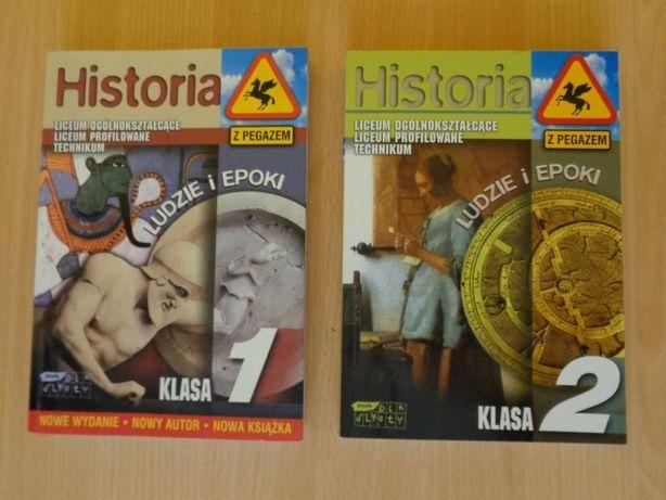 """""""HISTORIA z Pegazem"""" Podręczniki dla liceum i technikum. 2 książki !!!"""
