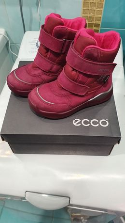 Сапоги зимние ботинки Ecco Goretex