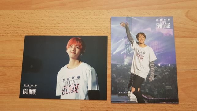 BTS 2016 On Stage Epilogue Blu-Ray karty
