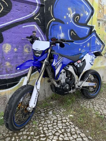 Yamaha wr450f supermoto