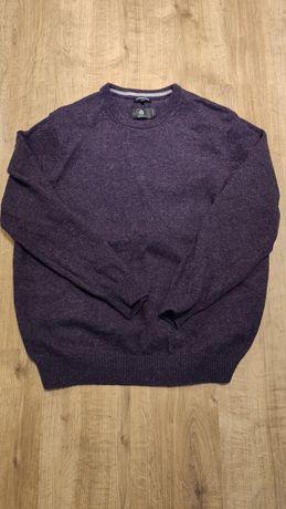 Wełniany sweter XXL