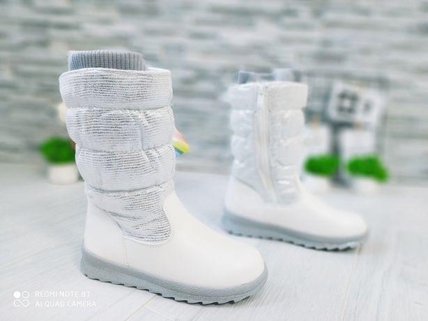 Стильные зимние сапоги для девочек