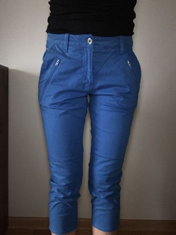 Spodnie szorty spodenki adidas 36 S M sportowe 3/4