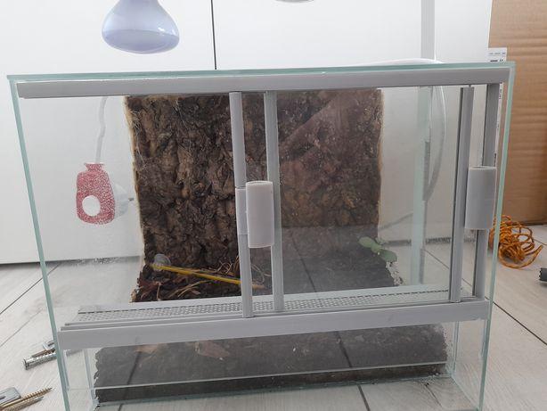 Terrarium dla gekona, jaszczurki, pająka, małego węża