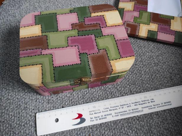 Moldura e caixa decoração (preço conjunto)
