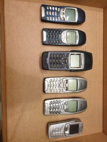 Lote de 6 telemóveis Nokia da série 6xxx