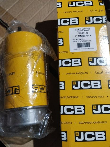 Фильтра топлива JCB