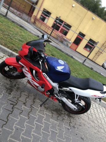 Honda CBR600 F4 świeże oc i pt