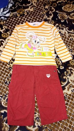 Детский костюм штаны кофта