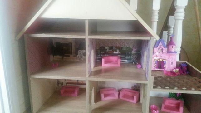 Домик для барби у будиночку два поверхи..