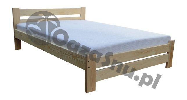 łóżko drewniane mega solidne z oparciem TRENTINO 160x200 dowolny wymia