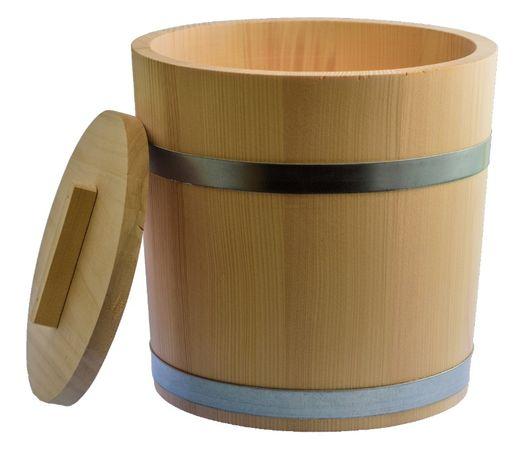 Beczka drewniana do kiszenia kapusty, ogórków 15 L