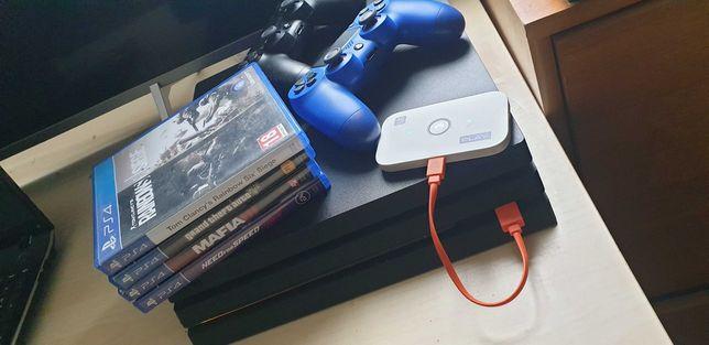 Playstation 4 pro 1tb gwar na różne zniszczenia Zamienie na komputer