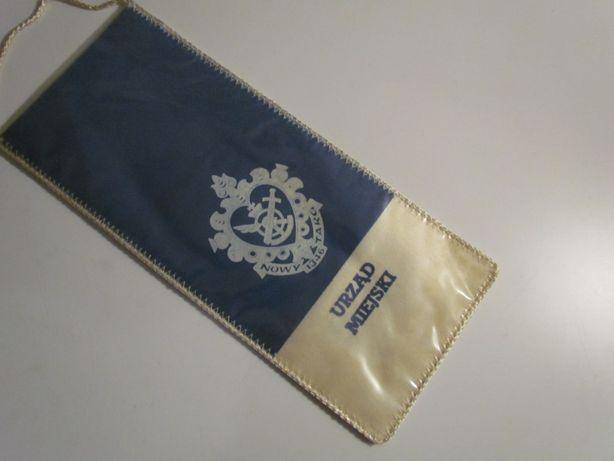 Proporczyk Zawody Wyzwolenia Nowy Targ Urząd Miejski Herb 1979