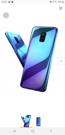 Etui nowe Samsung J6 2018 +szkło
