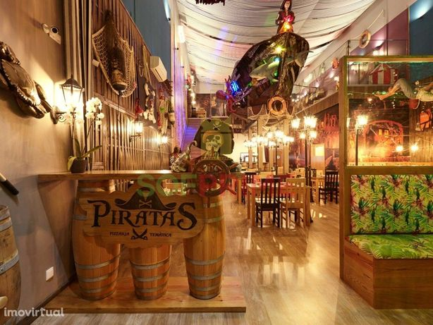 Pizzaria Temática ( Porto dos Piratas)