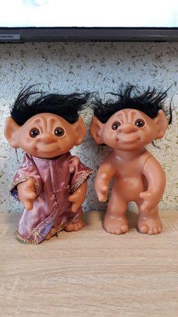 Тролли 1977 Thomas Dam Troll Doll, Made in Denmark