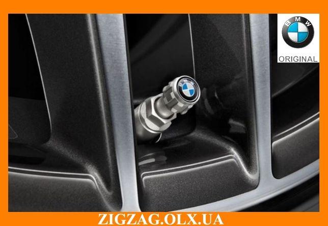 Колпачки BMW M. Оригинальные Колпачки для ниппелей БМВ Комплект 4шт