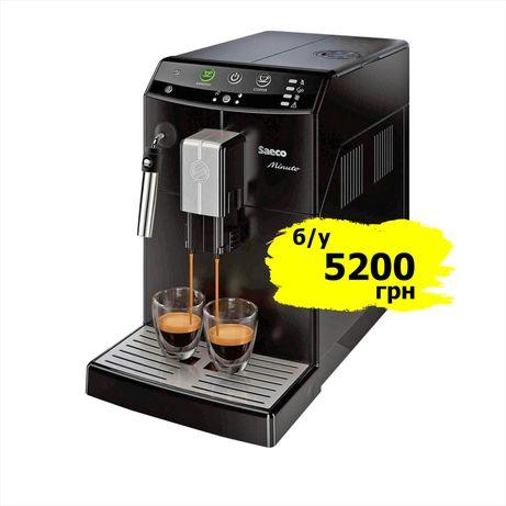 Кофемашина saeco philips minuto кофеварка саеко минуто hd8760 hd8765