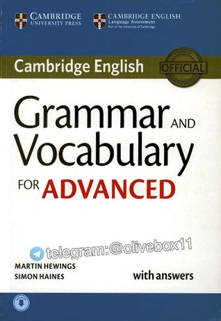 Cambridge Grammar and Vocabulary for Advanced CAE 2015 with Key +Audio