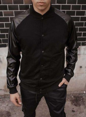 Бомбер мужской куртка весенняя осенняя