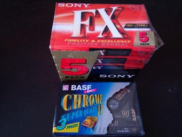 Nowe kasety sony i basf