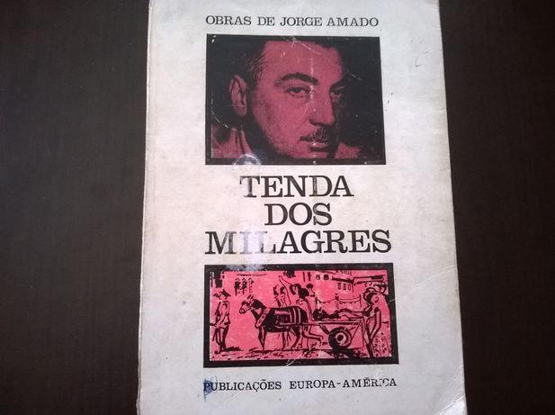 """""""Tenda dos Milagres"""" - Jorge Amado (portes grátis)"""