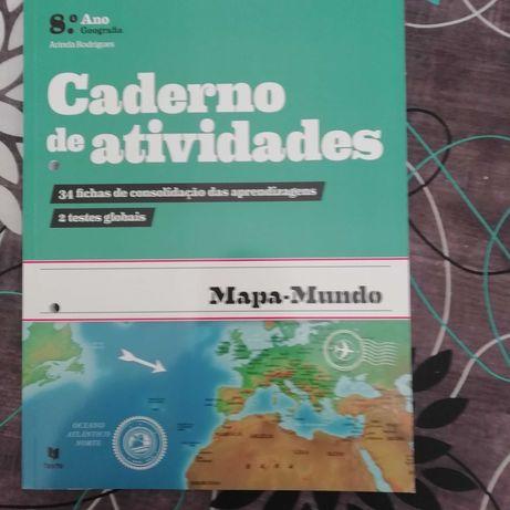 cadernos de atividades 8 ano