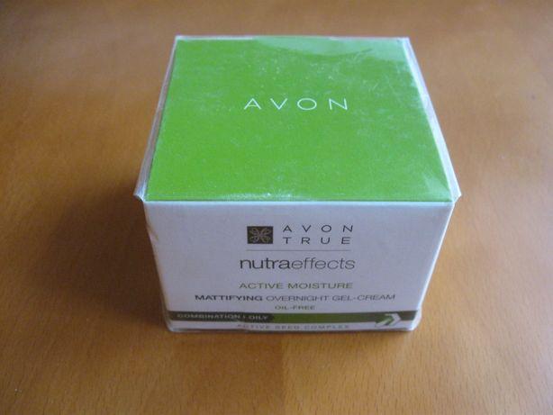 AVON Matująco-nawilżająca emulsja na noc (NutraEffects), 50 ml