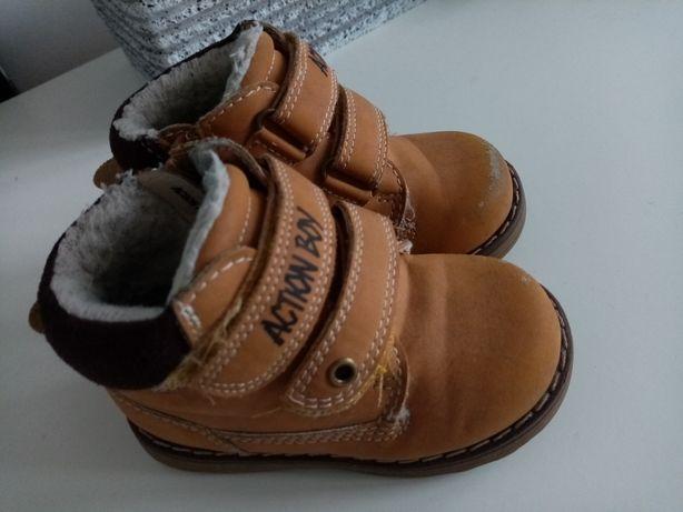 Buty buciki trzewiki kozaki zimowe dla chłopca rozm 21 Ccc