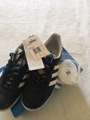 Ténis Adidas Gazelle azuis originais nº36