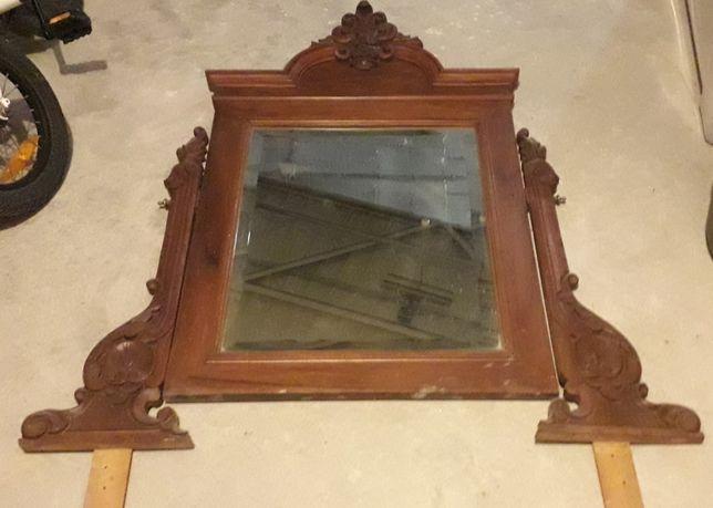 Espelho toucador em madeira