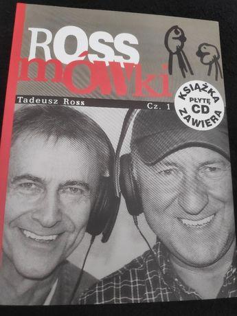 Rossmówki część 1 +CD Tadeusz Ross, Piotr Fronczewski