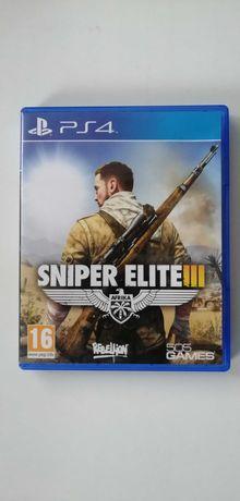 Sniper Elite III 3 Afrika / PS4 / PL / Ideał