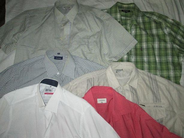 Продам мужские рубашки с коротким рукавом одного размера (Шведки)