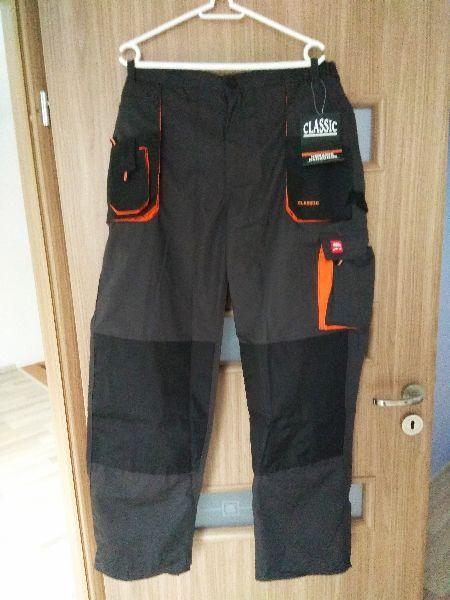 Spodnie robocze do pasa - nowe