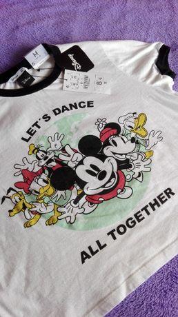 T-shirt cropped Disney - Mickey (NOVO c/ etiqueta)