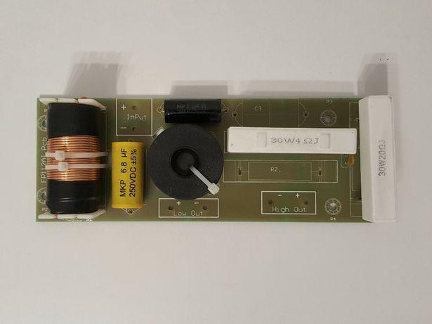Пассивный фильтр (кроссовер), 2х полосный