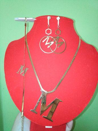 Biżuteria z literką M