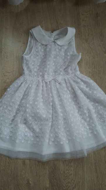 Sukienka biała 110 koronkowa