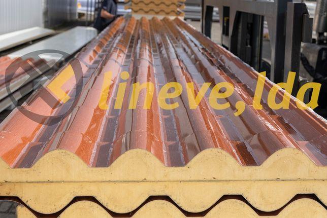 Painel Sandwich Imitação Telha - Lineve, lda