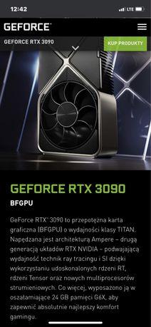 Navidia Geforce RTX 3090