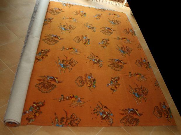 Wykładzina dywanowa do pokoju dziecięcego - Kubuś puchatek