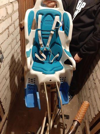 Fotelik na rower uzywany stan jak na foto