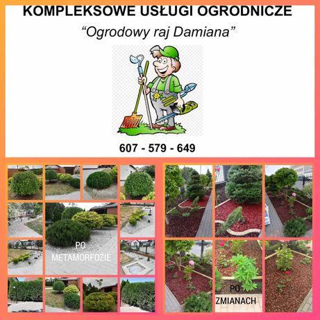 Kompleksowe usługi ogrodnicze Ogrodowy raj Damiana