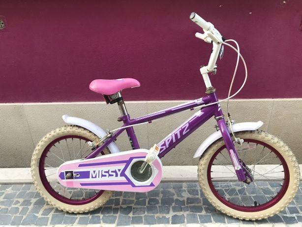Bicicleta criança * Roda 16* Menina * Com Rodinhas * 3+