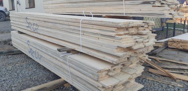Deski szalunkowe stemple budowlane kantowki tartak transport