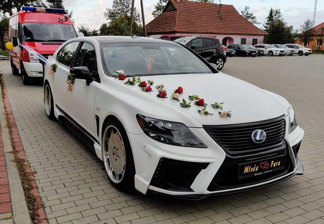 Oferta wynajmu samochodu klasy VIP, limuzyny Lexus LS600hL.