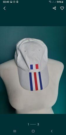 Nowa czapka męska z daszkiem adidas biała