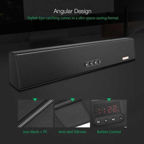 Mini Soundbar / Coluna Bluetooth BLITZWOLF BW-SDB0 (Novo-Selado)